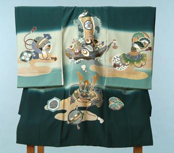 男児5-緑 宝船