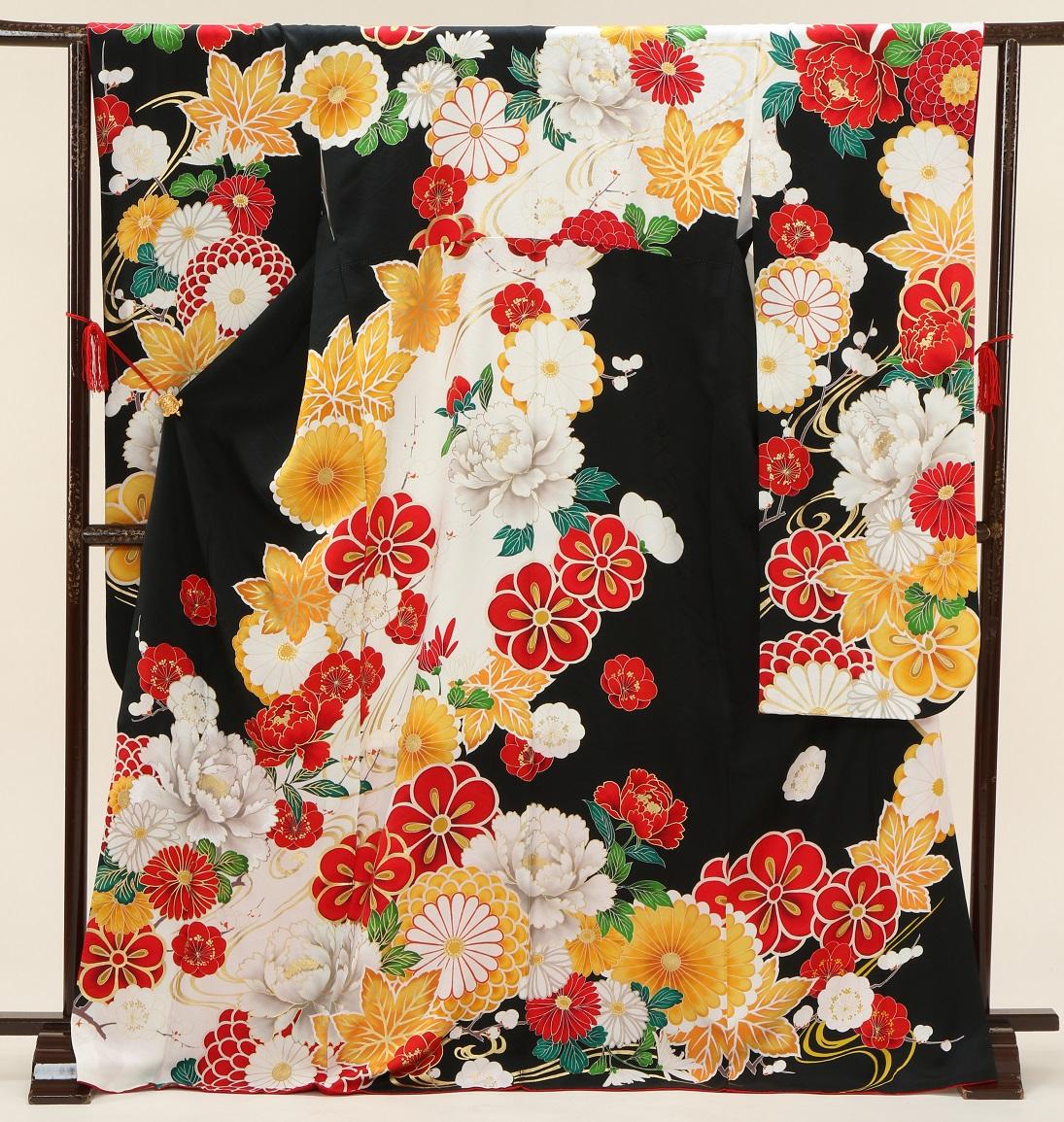 1973 マーベラス 白黒に花 Mサイズ